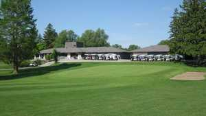 Pleasant Run GC: clubhouse