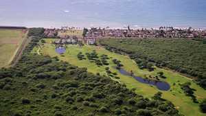 Ewa Beach GC: Aerial view