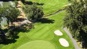 Nibley Park GC: aerial view