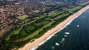 Durban CC - Beachwood: Aerial view
