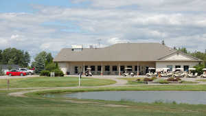 Holly Meadows GC: Clubhouse