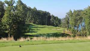 Primland Resort - Highland golf course - hole 2