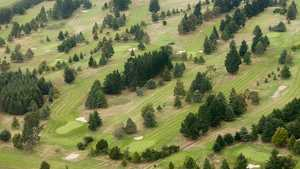 Ashburton GC: Aerial view