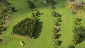 Rangatira GC: Aerial view