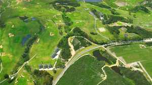 Carrington GC: Aerial view