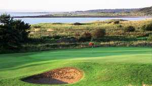 Longniddry GC - 14th green