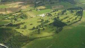 Greymouth GC: Aerial view