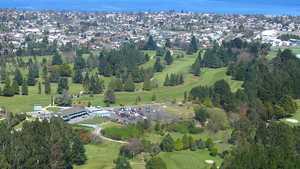 Taupo GC: Aerial view