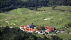 Darovanský dvůr Resort: Aerial photo