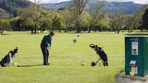 Royal Wellington GC: Driving range
