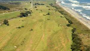 Hokitika GC: Aerial view