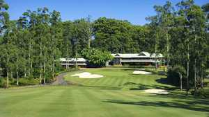 Bonville GR: #18 & clubhouse