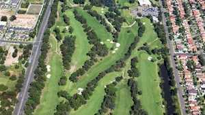 Carnarvon GC: Aerial view
