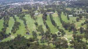 Coffs Harbour GC: Aerial view