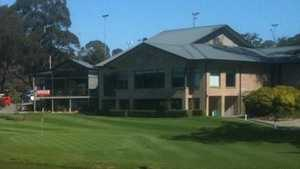 Highlands GC: Clubhouse