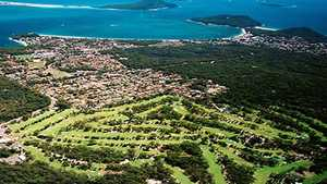 Nelson Bay GC: Aerial view