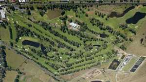 Richmond GC: Aerial view