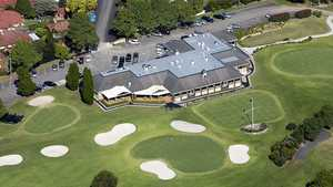 Roseville GC: Aerial view