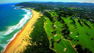 Shelly Beach GC: Aerial view