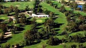 Goondiwindi GC: Aerial view