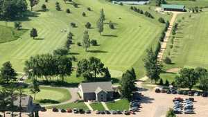 Krooked Kreek GC: Aerial view