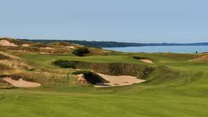 Straits golf course at Whistling Straits - hole 11