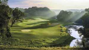 River golf course at Blackwolf Run - hole 5