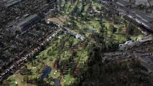 Virginia GC: Aerial view