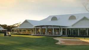 Berri GC at Big River GCC: Clubhouse