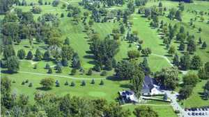 Glenbrier GC: Aerial view