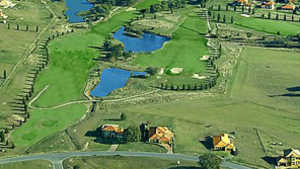 Hidden Valley GCC: Aerial view