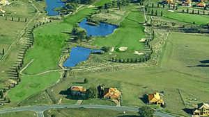 Hidden Valley GCC: Aerial view