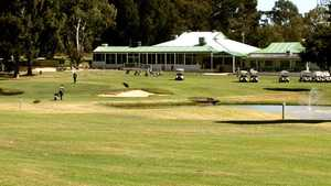 Hill View GC: Clubhouse