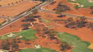 Kalgoorlie GC: Aerial view
