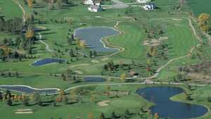 Mid Vallee GC: Aerial view