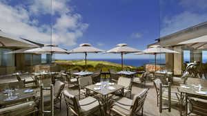 Oubaai GC: Clubhouse terrace