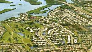 River Isles GC: Aerial view