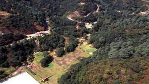 El Santuario GC: Aerial view