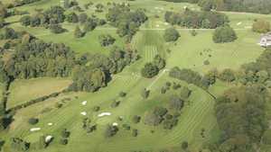 Tullamore GC: Aerial view