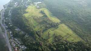 Innellan GC: Aerial view