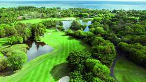 Belle Mare Plage GC - Legend: Aerial view