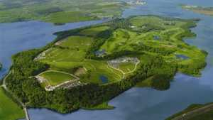 Fota Island GC: Aerial view