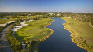 Raptor Bay GC: Aerial view #17,#18