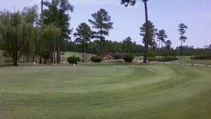 Oak Hills GC: Practice area