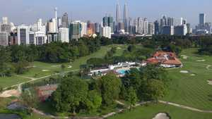 Royal Selangor GC: Aerial view