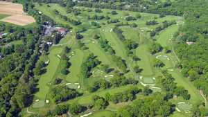 Brookville CC: Aerial view