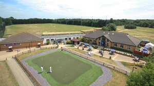 Downshire GC: Clubhouse & driving range