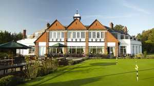 Burnham Beeches GC: Clubhouse