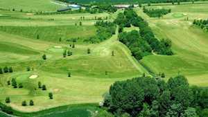New Malton GC: Aerial view