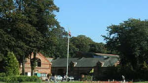 Walton Hall GC: #18 & clubhouse